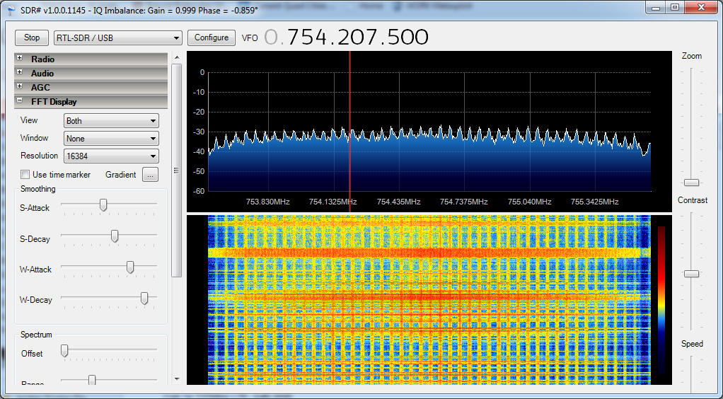 Identification of CDMA2000, GSM, and LTE signals with SDR